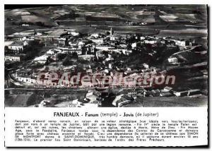 Postcard Old Fanjeaux Fanum Jovis