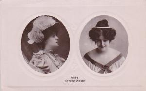Actress : Miss DENISE ORME , 00-10s