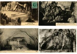 GROTTE CAVES Mostly FRANCE & BELGIUM 900 Cartes Postales Pre-1940