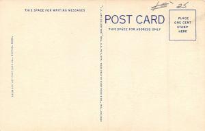 Pawtucket Rhode Island~Narragansett Race Track~Horses Parade to Post~1936 Linen