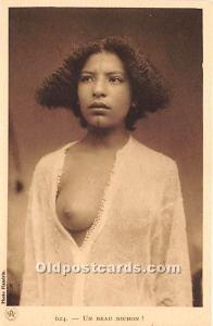 Arab Nude Postcard Un Beau Nichon Unused