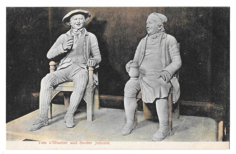 Robert Burns Characters Tam O'Shanter and Souter Johnnie