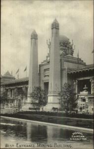 1904 Louisiana Purchase Expo Mogul Egyptian Cigarettes Advertising Postcard 19