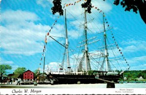 Connecticut Mystic Seaport Schooner Charles W Morgan