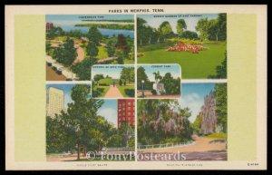 Parks in Memphis, Tenn.