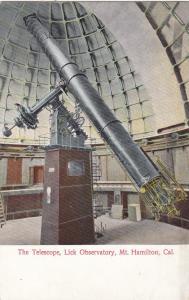 MT. HAMILTON, California , 00-10s ; Lick Observatory Telescope
