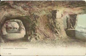 Jungfraubahn, Elgerwandstation - Virgin Ground Elger Wall Station 1911 Undivided
