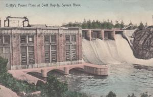 Orilla's Power Plant at SWIFT RAPIDS, Severn River, Ontario , Canada, 1900-10s