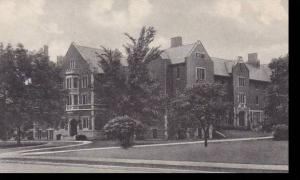 Indiana Muncie Ball State Teachers College Lucina Hall-Womens Dormitory Alber...