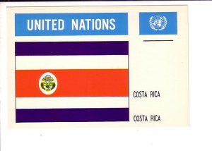Costa Rica, Flag, United Nations.