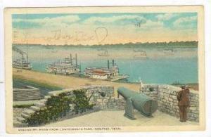 Confederate Park Cannon, Memphis, Tennessee, PU-1923