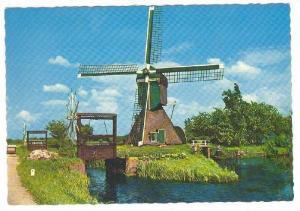 Windmill , 50-70s ; Moulin a Vent , Nertherlands #5