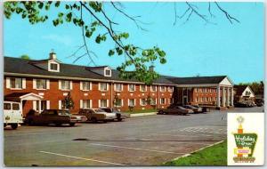 Lexington, Kentucky Postcard HOLIDAY INN North I-75 Roadside w/ 1973 Cancel
