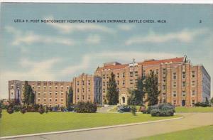 Michigan Battle Creek Leila Y Post Montgomery Hospital