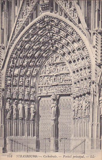 Cathedrale, Portail Principal, STRASBOURG, France, 00-10's