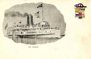 Richelieu & Ontario (R&O) Steamer Kingston