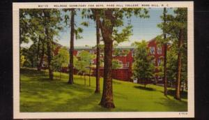 North Carolina postcard Melrose Dorm Mars Hill College