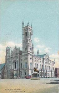 Pennsylvania Philadelphia Masonic Temple 1908
