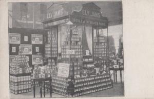 Ely Jams at Grocer Exhibition London Cambridge Antique Jam Cambs Postcard
