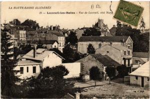 CPA Luxeuil-les-Bains - Vue de Luxeuil - Cote Nord (636292)