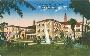 Jamaica The Constant Spring Hotel Postcard Early 1900s