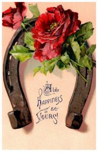 Valentine Horseshoe with flowers