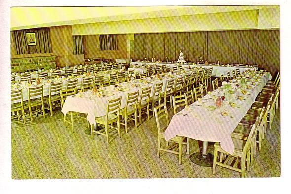 Collins Motor Hotel, Wedding Reception, Dundas, Ontario, Monarch Lithographin...