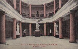 ANN ARBOR, Michigan, 00-10s; Interior Of Memorial Hall, University Of Michigan