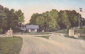 Indiana Spencer Gate Entrance McCormicks Creek Canyon State Park Albertype