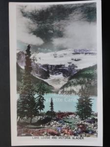 Canada: Lake Louise and Victoria Glacier c1950's RP, Pub by The Gowen Sutton Co