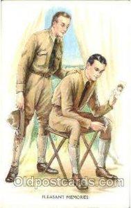 Artist Archie Gunn (United States) Series 1371 Unused