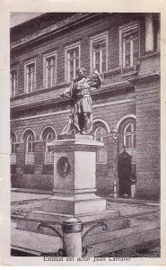 Statue of Juan Caetano, Actor 1908