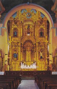 Golden Altar, Church of San jose , Panama City , Panama , 40-60s