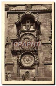 Postcard Old Prague Orloj Staroměstský
