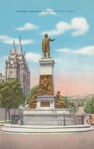 SALT LAKE CITY, Utah, 1930-40s; Pioneer Monument
