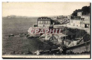 Old Postcard The View Restaurant Corniche of taking the Reserve to the Friuli