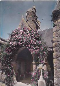 ILE DE BREHAT, L'Eglise, Cotes d'Armor, France, PU-1957