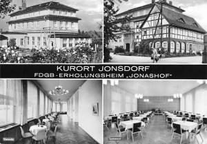 Kurort Jonsdorf FDGB-Erholungsheim Jonashof Veranda, Speisesaal