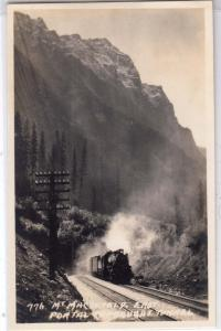 RPPC, Mt MacDonald, East Portal Connaught Tunnel