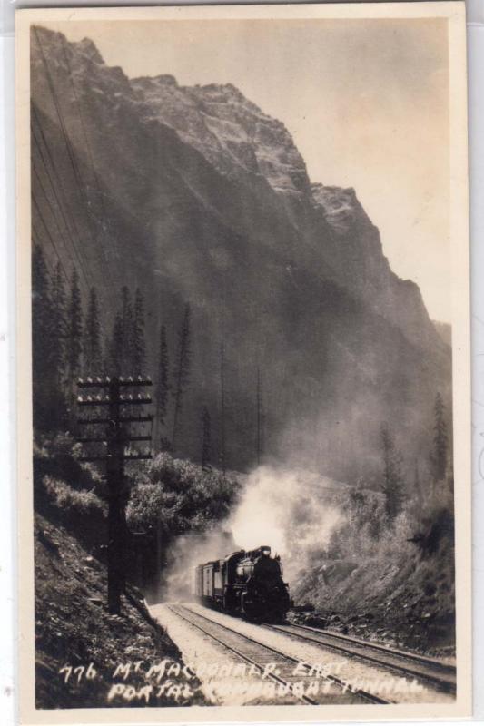 RPPC, Mt MacDonald, East Portal Connaught Tunnel