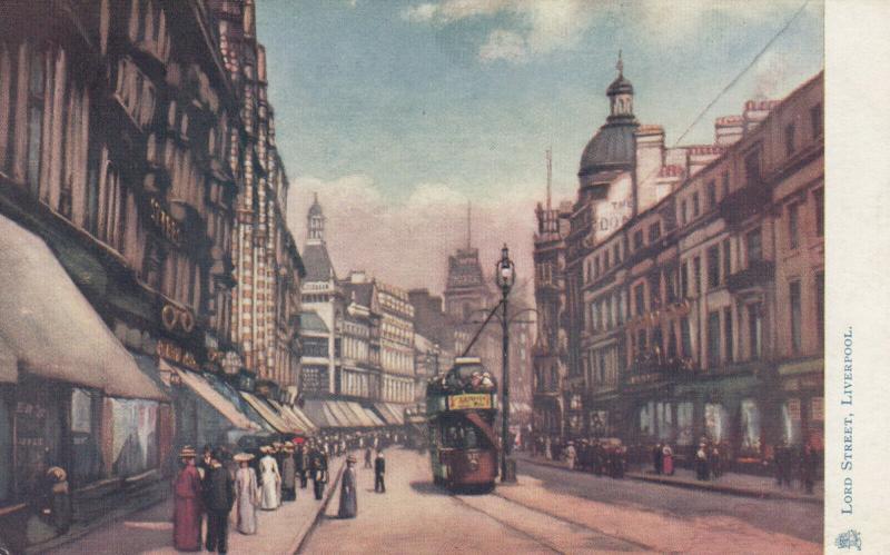 LIVERPOOL, England, 00-10s; Lord Street , TUCK # 1461