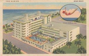 MIAMI BEACH , Florida , 1930-40s ; The Albion Hotel
