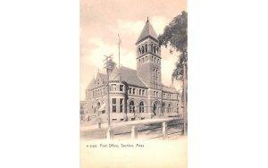 Post Office Taunton, Massachusetts Postcard