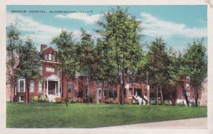 Illinois Bloomington Brokaw Hospital 1946