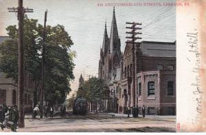 LEBANON, Pennsylvania, 1900-1910's; 8th And Cumberland Streets
