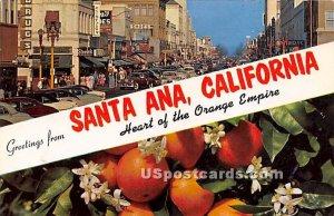 Greetings from - Santa Ana, CA