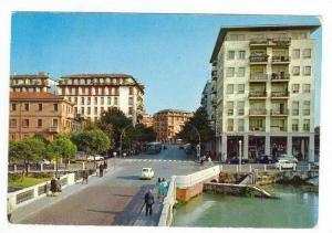 TREVISO, Bird´s Eye View, St. Martins Bridge, Roma Street, Italy, PU-1973