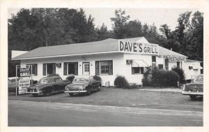 B50/ Ulmers South Carolina SC Postcard c1940s Dave's Grill Roadside Restaurant