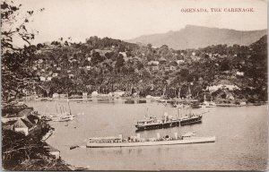 Grenada The Carenage Boats Ships Unused West Indian Picture Postcard G99