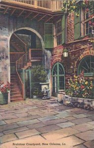 Louisiana New Orleans Brulatour Courtyard